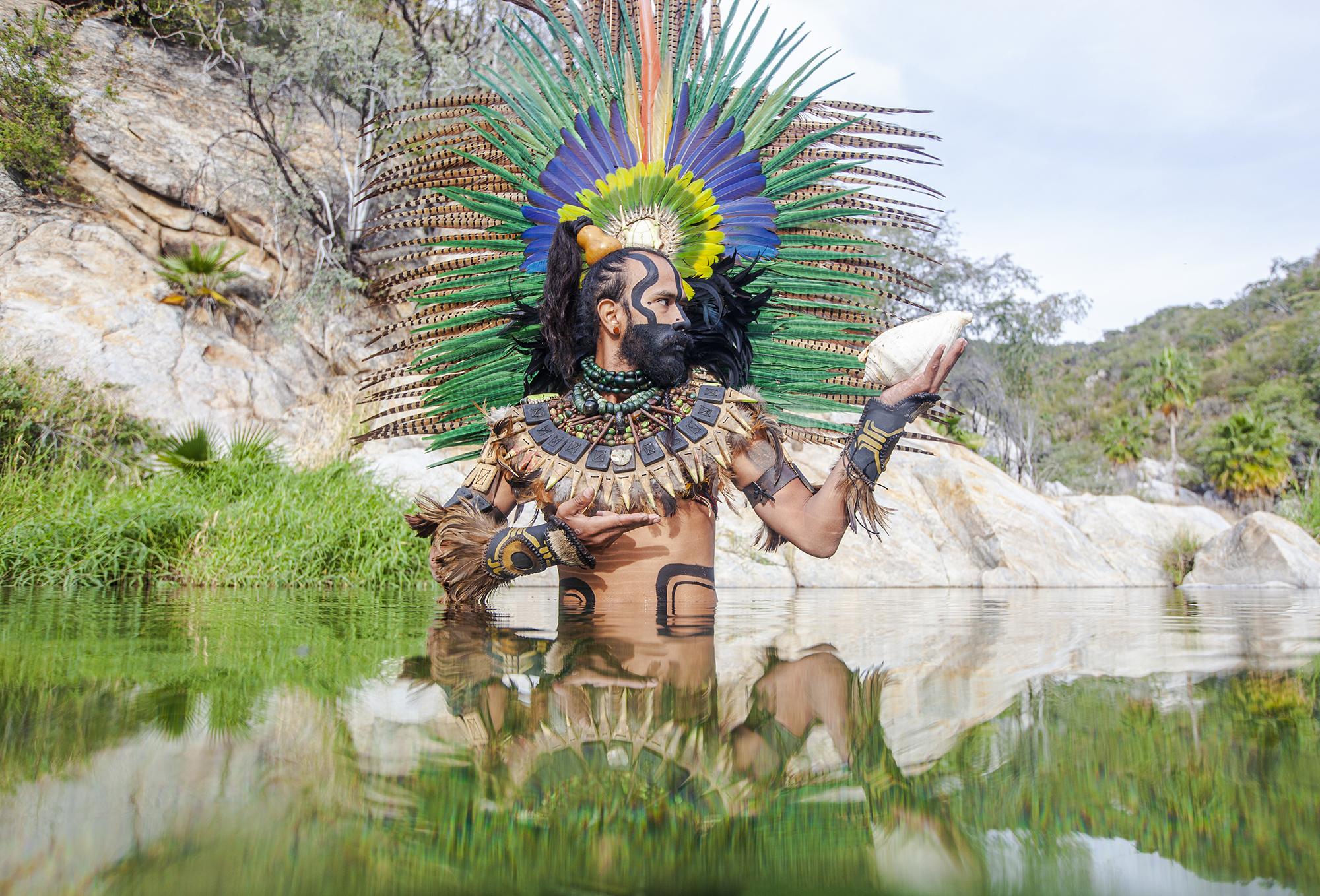 Foto Guerrero azteca Inicio Citlali Chalvignac